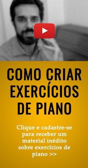 Como criar exercicios para piano